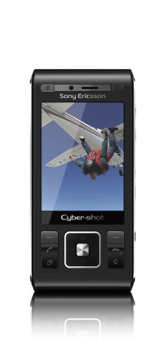 Sony Ericsson C905 Handy (8MP, GPS, WLAN) Night Black