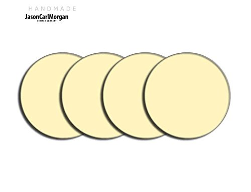 Centre de roue en alliage PAC Badges pour Skoda Honda mg (Clr 57mm), autocollant, crème