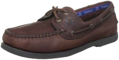 Chatham Marine Men's Deck G2 Red Brown Boat Shoe D1004-110 11 UK, 45 EU