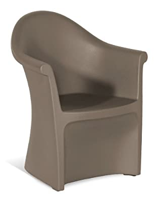 Hartman 42501033 Romantic Dining Stuhl, taupe von Hartman auf Gartenmöbel von Du und Dein Garten