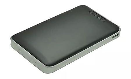 Goliton® WIFI USB 3.0 boîtier routeur sans fil cas du boîtier de disque dur de dur externe HD 3500mA puissance de Wifi-Noir