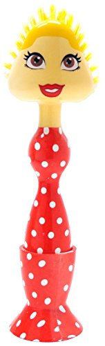 Every Day Gourmet Lady Dish Brush, Polka Dot, Medium (Polka Dot Cookware compare prices)