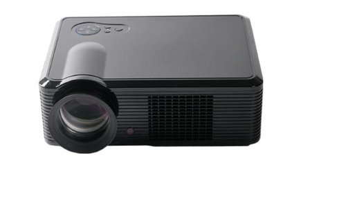 LED33+ LED Home Theater Video Projector Dual-HDMI 1080P 2000Lumen HDMI HD TV WII PS3-Black