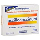 Boiron Oscillococcinum Natural Flu Relief - 12 doses per pack -- 1 each.