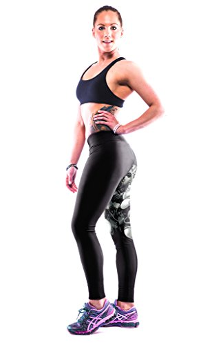 ZIOOER Fitness Yoga Sport Pants Printed Stretch Ankle Legging India Elephant
