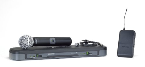 Shure PG1288/PG185 Vocal/Lavalier Combo Wireless System, M7