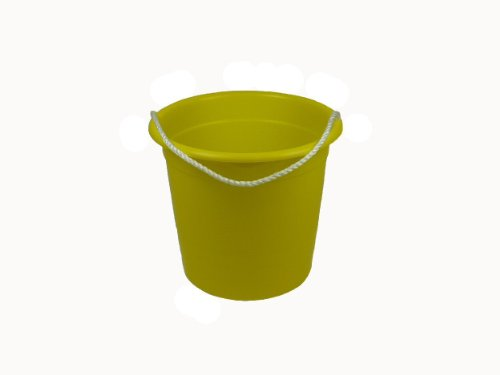 Romanoff Rope Pail, Yellow - 1