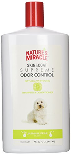 Nature's Miracle Supreme Whitening Odor Control Shampoo, 32 oz (Nature Miracle Shampoo compare prices)