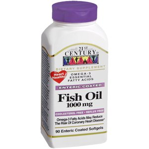 Special Pack Of 5 Fish Oil Omega 3 Ec 21St Century 90 Per Pack