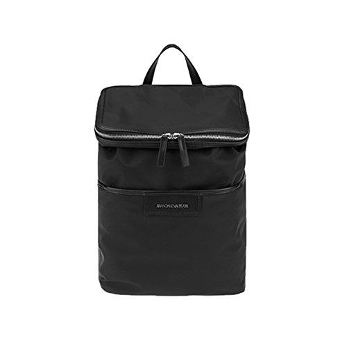 mandarina-duck-unisex-hunter-lit13-casual-backpackschool-bag-navy-free-gift-key-ring-black