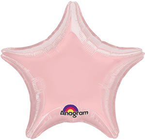 Pink Star 18in Balloon