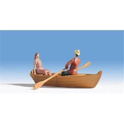 16800 - NOCH - HO - Ruderboot, (nicht schwimmfähig)
