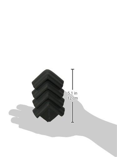 KidKusion Jumbo Corner Cushion, Black