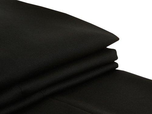 MICHAEL Michael KorsMichael Kors Mens Solid Black Wool Suit- Size 54L