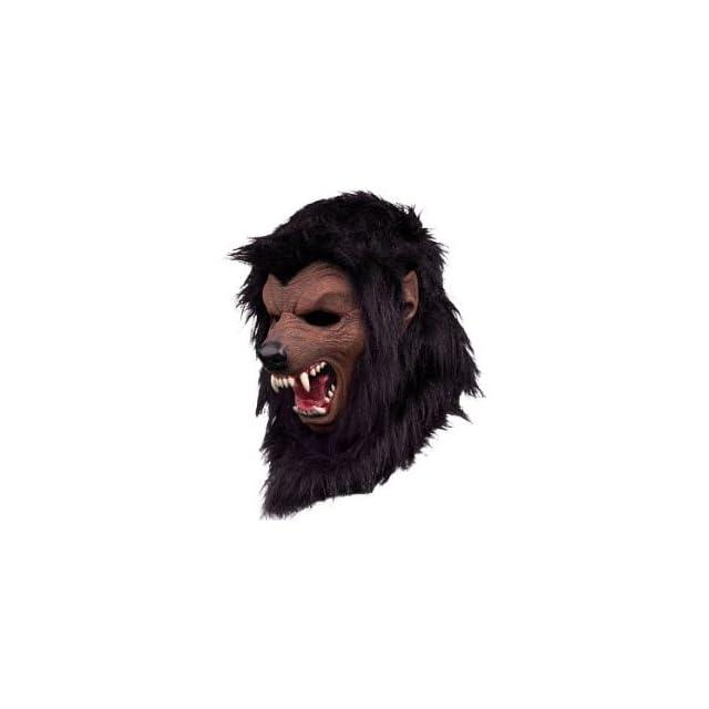 579ed9c862e Werewolf Fur Halloween Mask Black on PopScreen