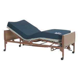 """Ivc Full Electric Bed Package With Solace Prevention Foam Mattress, 15"""" - 23"""" Bed Height, 350 Lb. Capacity [Each-1 (Single)]"""