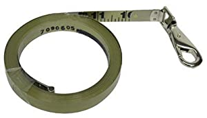 "Oil Gauging Tape Replacement Blades 1/2""X100'/30M Inage Etched Stainless Refill: 700-62555 - 1/2""x100'/30m inage etched stainless refill"