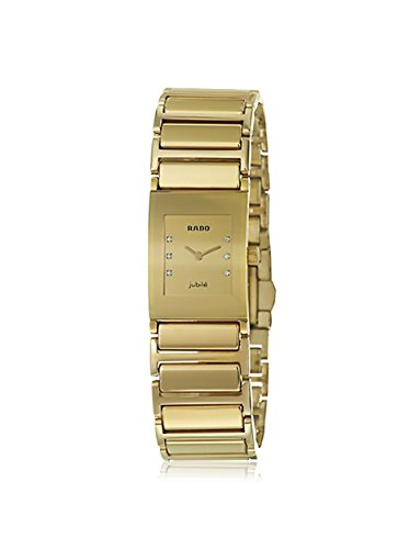 Rado Women's R20792732 Gold-Tone Stainless Steel Watch