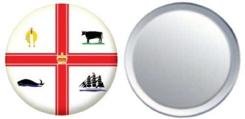 miroir-insigne-de-bouton-australie-melbourne-drapeau-58mm