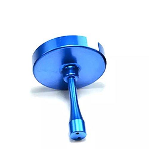 Goliton® GPS cas/housse étui blindage protecteur anti-parasitage CNC en alliage d'aluminium pour Zero Antenne GPS-Bleu