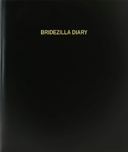 BookFactory Bridezilla Diary &#8211; 120 Page, 8.5&#8243;x11&#8243;, Black Hardbound (XLog-120-7CS-A-L-Black(Bridezilla Diary))