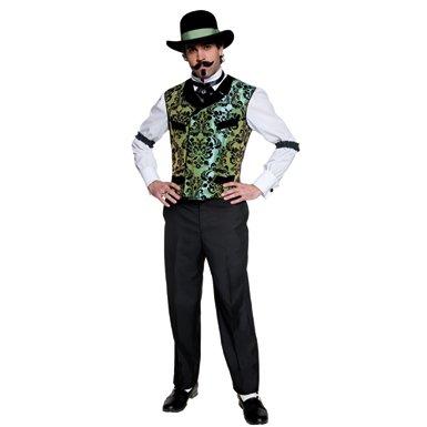 Mens Authentic Western Gambler Halloween Costume