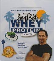 Jay Robb Whey Protein Powder Vanilla -- 12 Packets