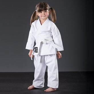 Blitz Sport Kids Polycotton Student Karate Suit 2/150cm White