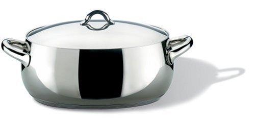 Alessi - SG112/30 - Mami Casseruola ovale in acciaio inossidabile 18/10 lucido.