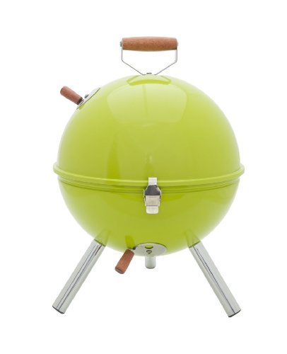 idelice-cu496-857a-barbecue-a-charbon-nomade-forme-boule-pour-2-3-personnes-inox-bois-vert-anis