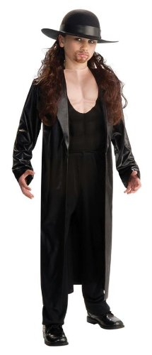 [Costumes For All Occasions Ru884302Sm Wwe Undertaker Dlx Child Sm] (Undertaker Childrens Costume)