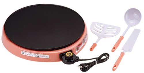 Sugiyama Metal Hotplate for Handmade Crepes Crepla KS-2665