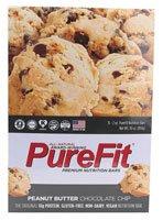Nutrition Bar Gluten Free - Peanut Butter Chocolate Chip - Box Purefit 15 Bars 1