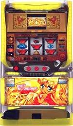 秘宝伝(クレア) 【中古パチスロ実機/コイン不要装置セット】家庭用電源OK!