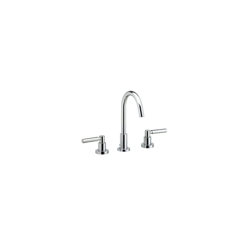 """Phylrich D130007 007  Polished Brass Antiqued Bathroom Faucets 8"""" Widespread Faucet With High Arc Spout W/Lever Handles   Touch On Bathroom Sink Faucets"""