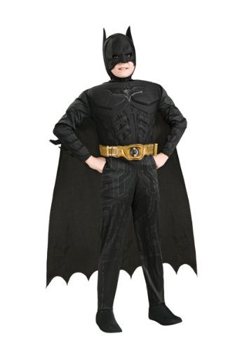 The Dark Knight Deluxe Batman Costume: Boy's Size 8-10