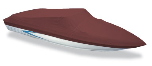 Custom Boat Cover, Nautic Star 2110 Nautic Bay W/o Swimstep 06-12, Burgundy Sunbrella