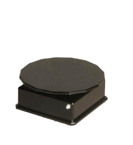 バッテリータイプターンテーブル ブラック (ディスプレイ)
