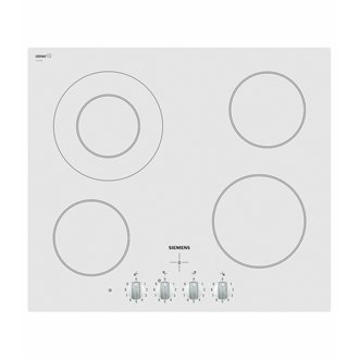 Table vitroceramique blanche table vitroceramique - Plaque induction blanche ...