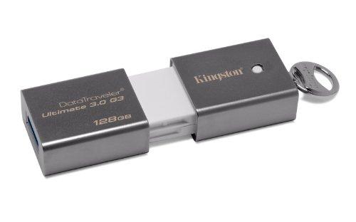 Kingston DataTraveler DTU30G3 Ultimate Generation 3 128GB Speicherstick USB 3.0 silber