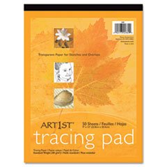 ** Art1st Parchment Tracing Paper, 9 x 12, White, 50 Sheets **