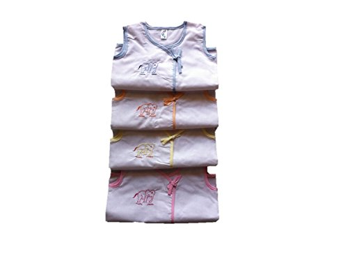 New Born baby cotton clothing - 4 Jablas - Unisex - Daily cotton wear