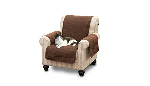 Furhaven Pet Products Home Chair Protector, Espresso