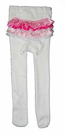 Baby girls ruffle pants use the t like our leggings, please Wennikids Toddler Litle Girls Cotton Ruffle Leggings. by Wennikids. Kids Girls Leggings (footless Tights) with Ruffle Bottom 3 Pair Pack Little Girl's Double Icing Ruffle Leggings Triple Cotton Boutique Elastic Waist Slacks Joggers Activewear. by IBTOM CASTLE.