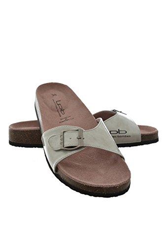 Sandali, nu les p'tites bombes piedi opaline, colore: grigio, Grigio (grigio), 41
