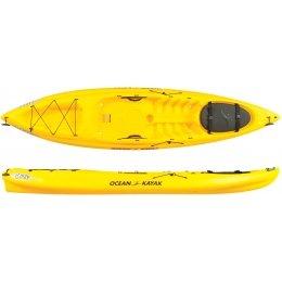 Ocean 11-Feet Caper Classic Recreational Sit-On-Top Kayak, Sunrise