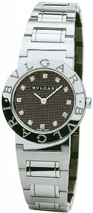Bvlgari Bvlgari-Bvlgari Black Stainless Steel Ladies Watch BB26BSS-12N
