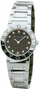 Bvlgari Bvlgari-Bvlgari Black Stainless Steel Ladies Watch BB26BSS-12N from Bvlgari