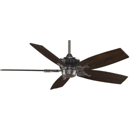 Fanimation Lourve 52 Inch Indoor Ceiling Fan - Pewter