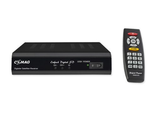 Comag A1081 Digital SD Satelliten-Receiver